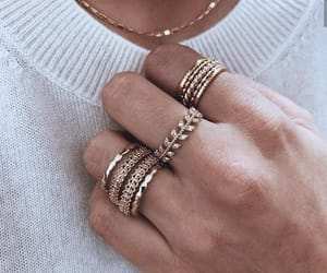 accessories, rings, and beauty image