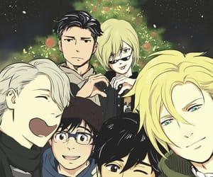 ash, christmas, and manga image