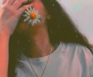 fine, flower, and girl image