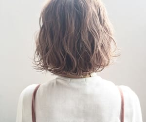 hair, style, and short hair image