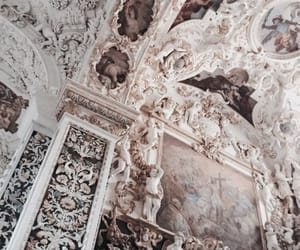 architecture, art, and white image