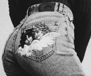 angels, bum, and jeans image