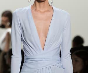 blue, dress, and elegant image