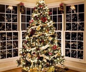 christmas tree, christmas day, and cozy image