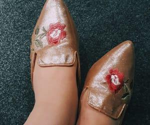 bordado, flats, and heels image