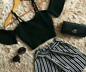 accessories, summer, and black image