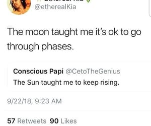 moon, phases, and quotes image