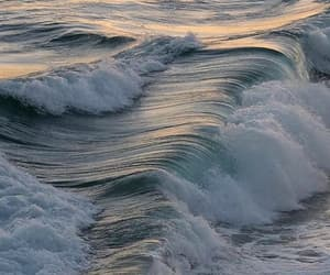 ocean, aesthetic, and waves image