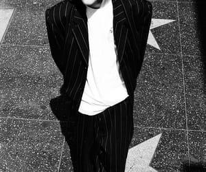 leonardo dicaprio, 90s, and black and white image