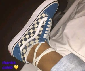 blue, checkers, and fashion image