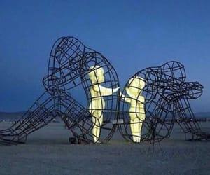 love, art, and sad image