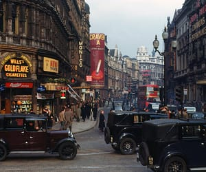 london, vintage, and car image