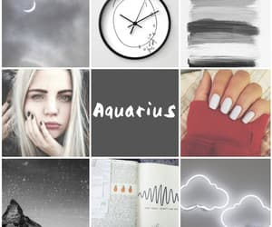 aesthetic, january, and aquarius image