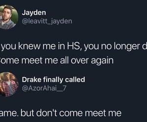 funny, same, and high school image