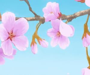 anime, flower, and gif image
