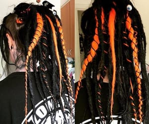 dreads, Halloween, and synthetic dreads image