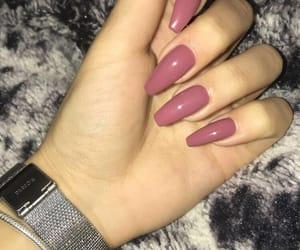 nails, nail art, and stylish image