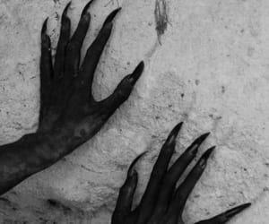 dark, demon, and satan image