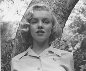 life magazine, Marilyn Monroe, and ed clark image