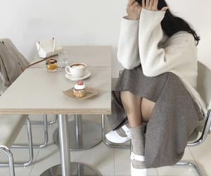 aesthetic, asian fashion, and cafe image