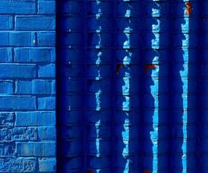 blue, photography, and wall image