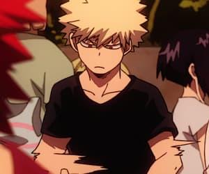 anime, gif, and bakugou image