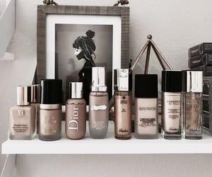 makeup, cosmetics, and nails image