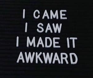 awkward image
