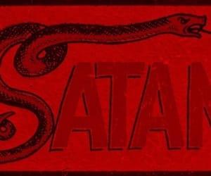 satan, aesthetic, and snake image