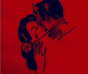 red, alternative, and hug image