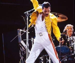 Queen, Freddie Mercury, and rock image