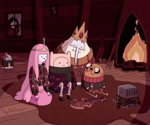 adventure time, christmas, and finn image