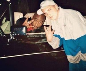 eminem, rap, and tupac image