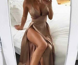 sexy evening dresses, a-line prom dress, and 2018 prom dress image