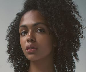 beauty, brown skin, and curls image
