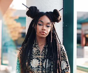 beauty, black women, and hairstyles image
