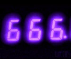 pink, 666, and grunge image