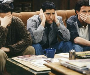 chandler bing, Matthew Perry, and David Schwimmer image