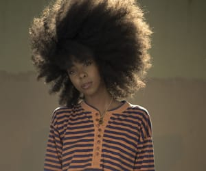 big hair, black women, and curly hair image