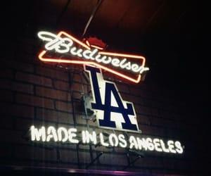 Budweiser, la, and losangeles image