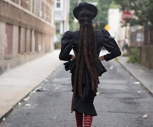 black women, dreads, and fashion image
