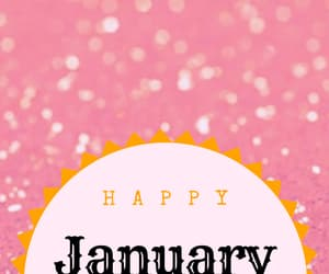 happy, january, and new year image