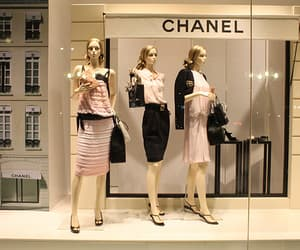 chanel, fashion, and window display image