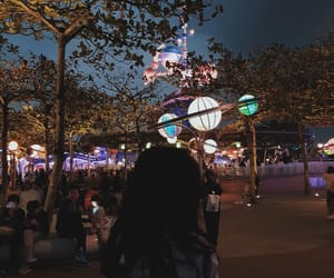 disney, night, and outerspace image