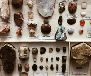 crystals, gems, and museum image