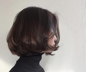 hair, girl, and short hair image