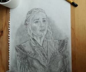 art, pencil art, and game of thrones image