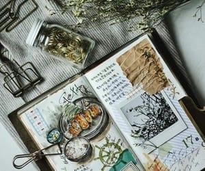 journal and food image