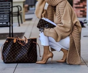 bag, clothes, and vuitton image