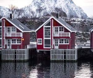 travel, norway, and snow image